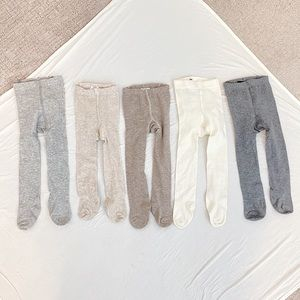 H&M 5 Pack Knit Tights